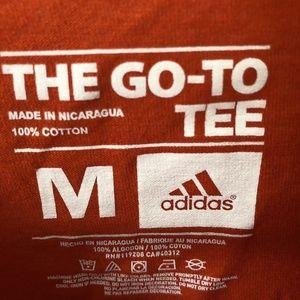 adidas Shirts - adidas Miami Hurricanes Chromed Logo T-Shirt